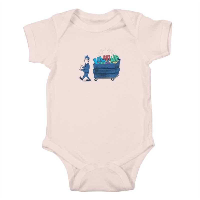 Grammar Police 2 Kids Baby Bodysuit by SteveOramA
