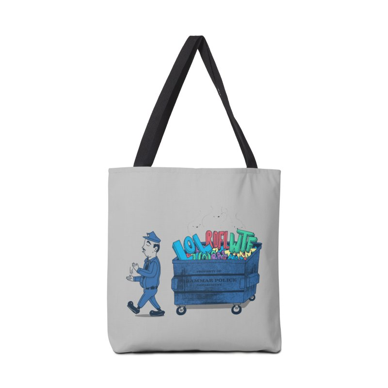 Grammar Police 2 Accessories Bag by SteveOramA