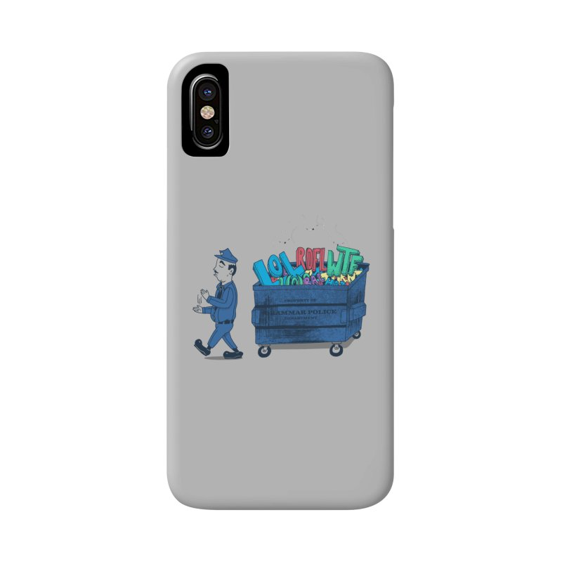 Grammar Police 2 Accessories Phone Case by SteveOramA