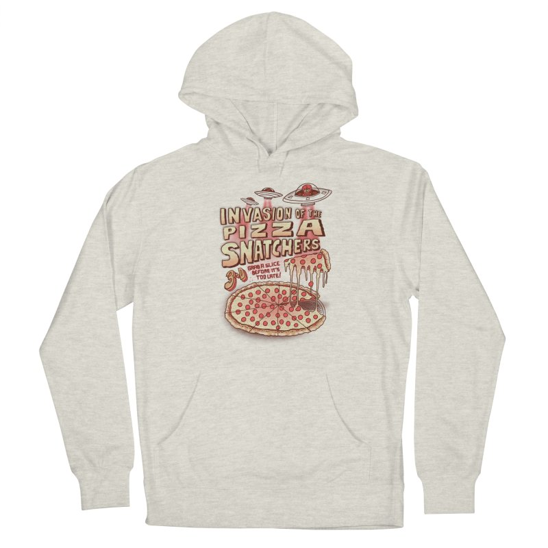 Invasion of the Pizza Snatchers Men's Pullover Hoody by SteveOramA