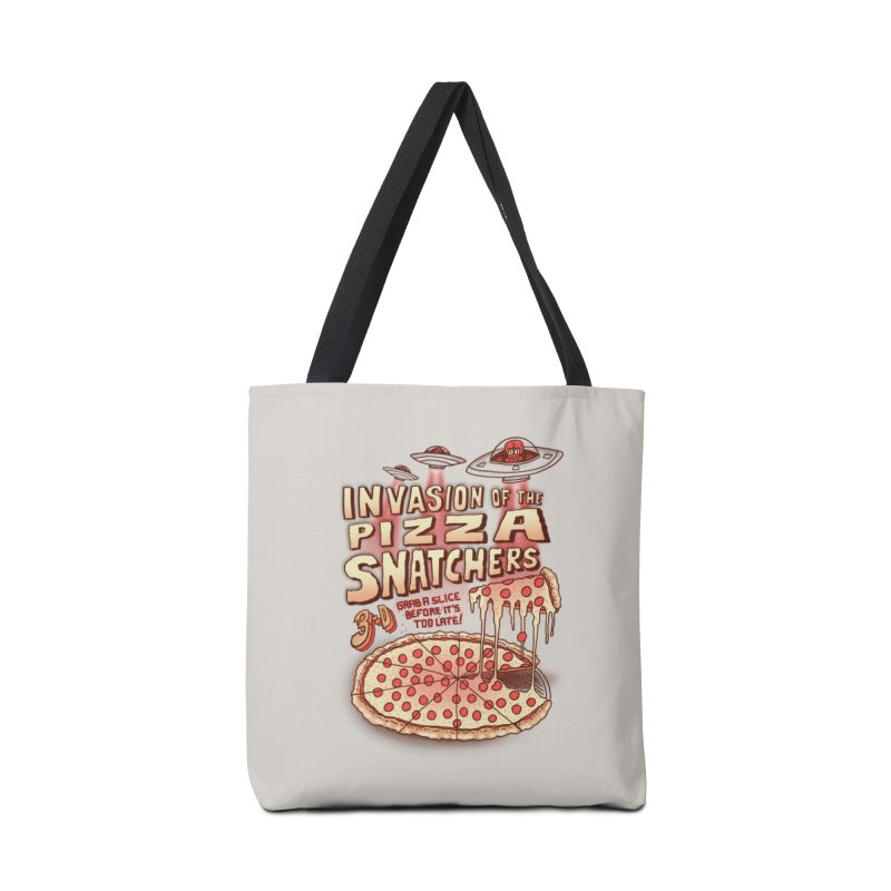 Invasion of the Pizza Snatchers Accessories Tote Bag Bag by SteveOramA