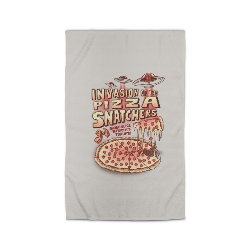 Invasion of the Pizza Snatchers Home Rug by SteveOramA