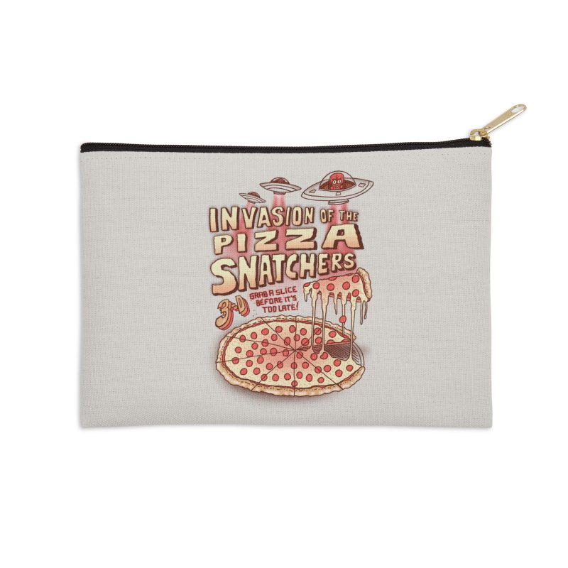 Invasion of the Pizza Snatchers Accessories Zip Pouch by SteveOramA