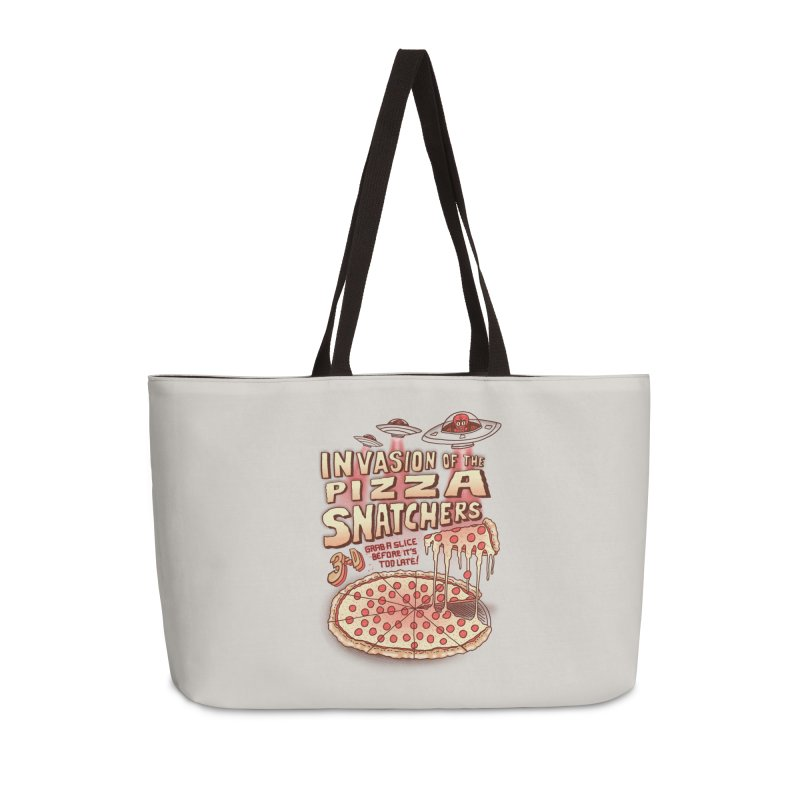 Invasion of the Pizza Snatchers Accessories Weekender Bag Bag by SteveOramA