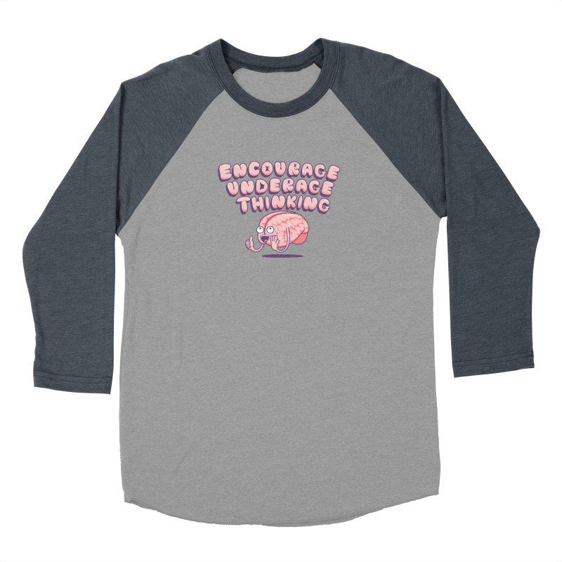 For The Kids Women's Baseball Triblend Longsleeve T-Shirt by SteveOramA
