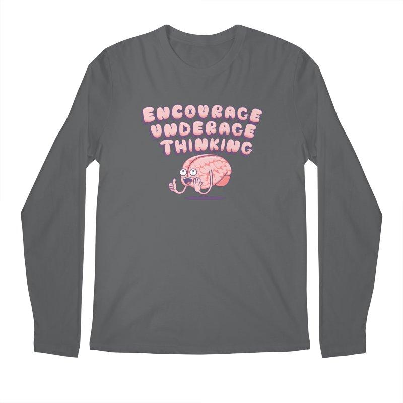For The Kids Men's Longsleeve T-Shirt by SteveOramA