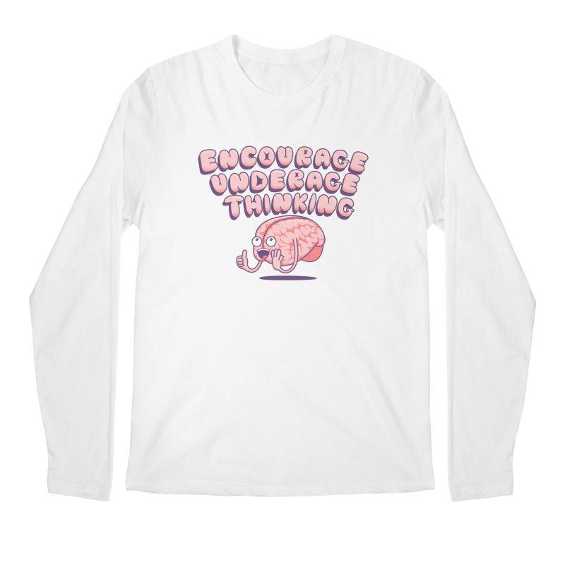 For The Kids Men's Regular Longsleeve T-Shirt by SteveOramA