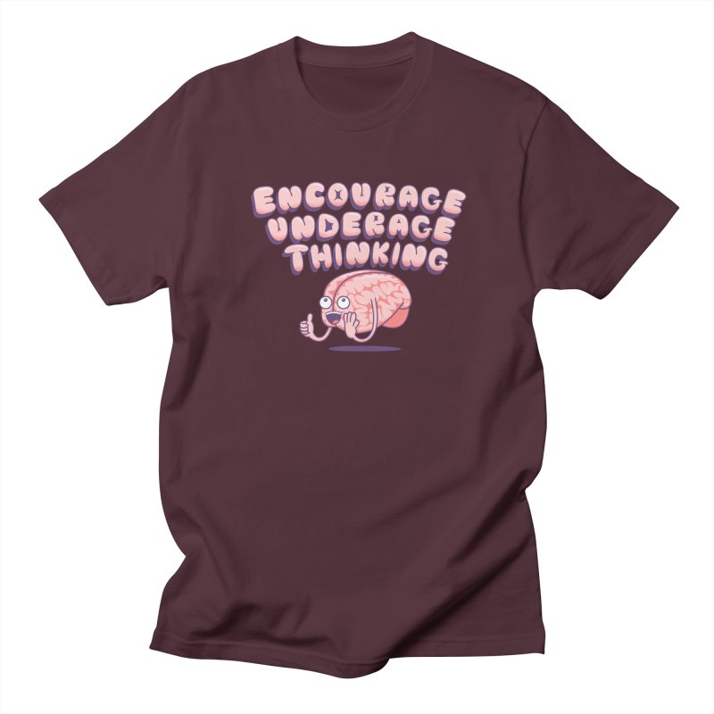 For The Kids Men's Regular T-Shirt by SteveOramA