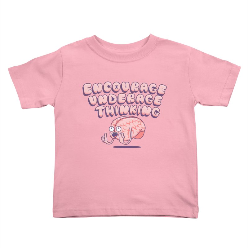 For The Kids Kids Toddler T-Shirt by SteveOramA