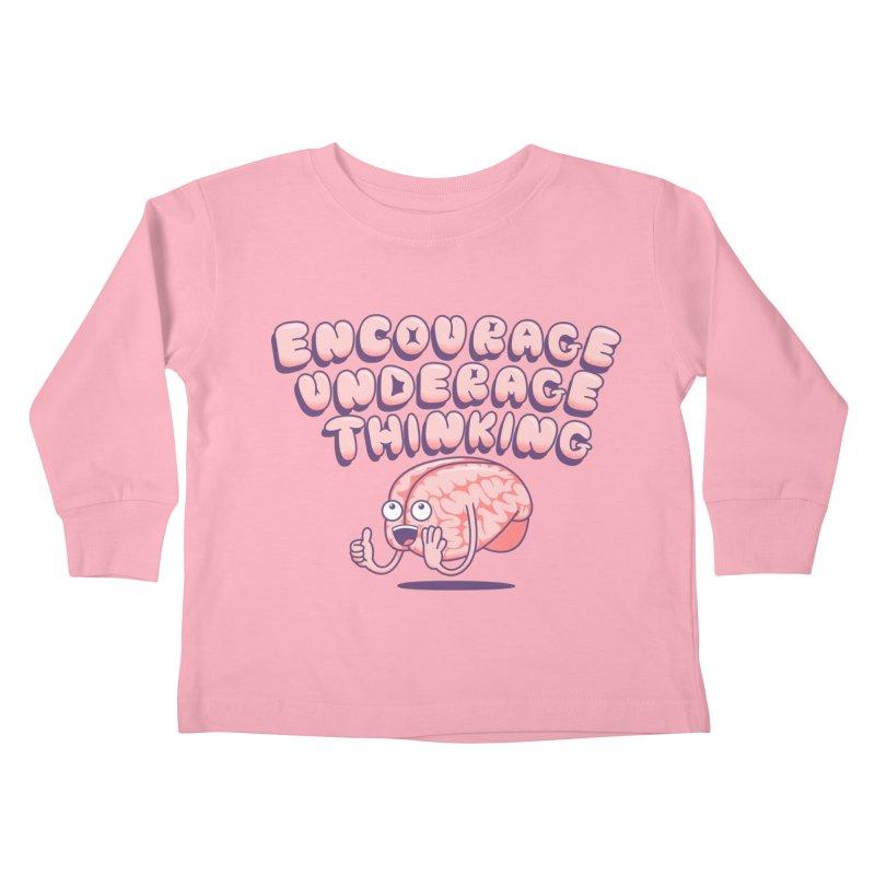 For The Kids Kids Toddler Longsleeve T-Shirt by SteveOramA