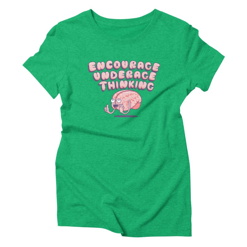 For The Kids Women's Triblend T-Shirt by SteveOramA