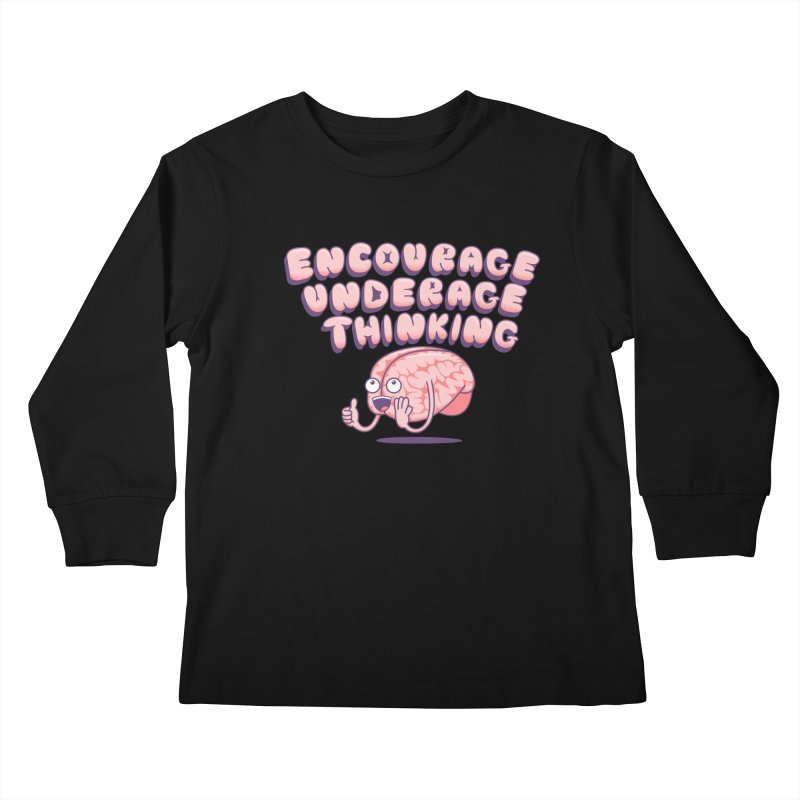 For The Kids Kids Longsleeve T-Shirt by SteveOramA