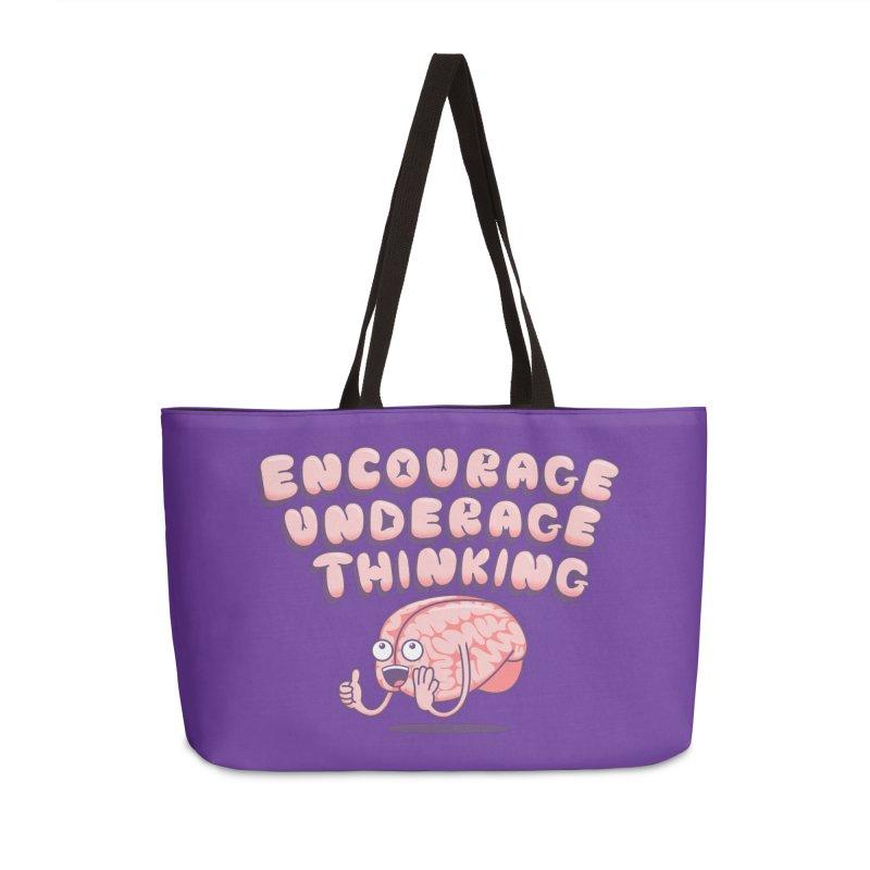 For The Kids Accessories Weekender Bag Bag by SteveOramA