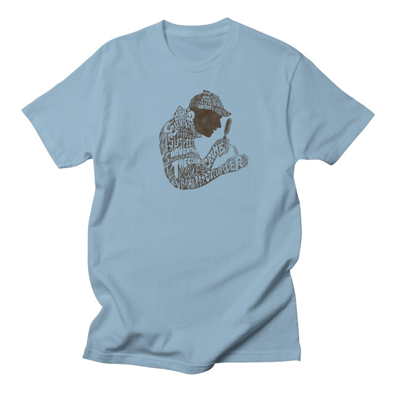 Man of Many Words Men's Regular T-Shirt by SteveOramA