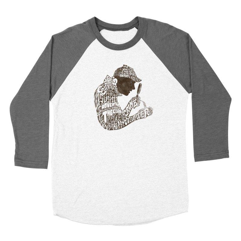 Man of Many Words Women's Longsleeve T-Shirt by SteveOramA