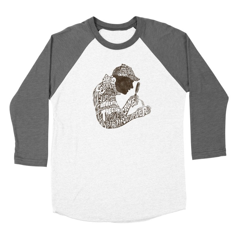 Man of Many Words Women's Baseball Triblend Longsleeve T-Shirt by SteveOramA