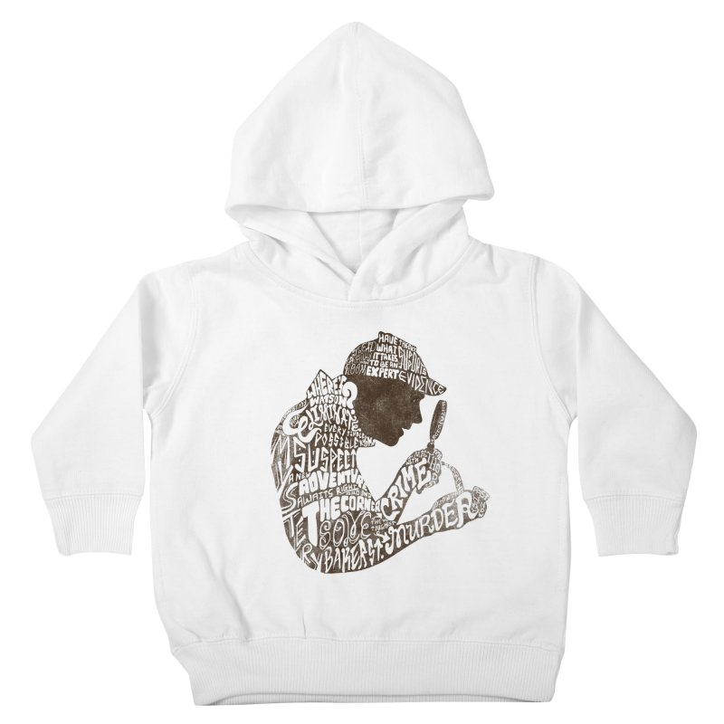 Man of Many Words Kids Toddler Pullover Hoody by SteveOramA