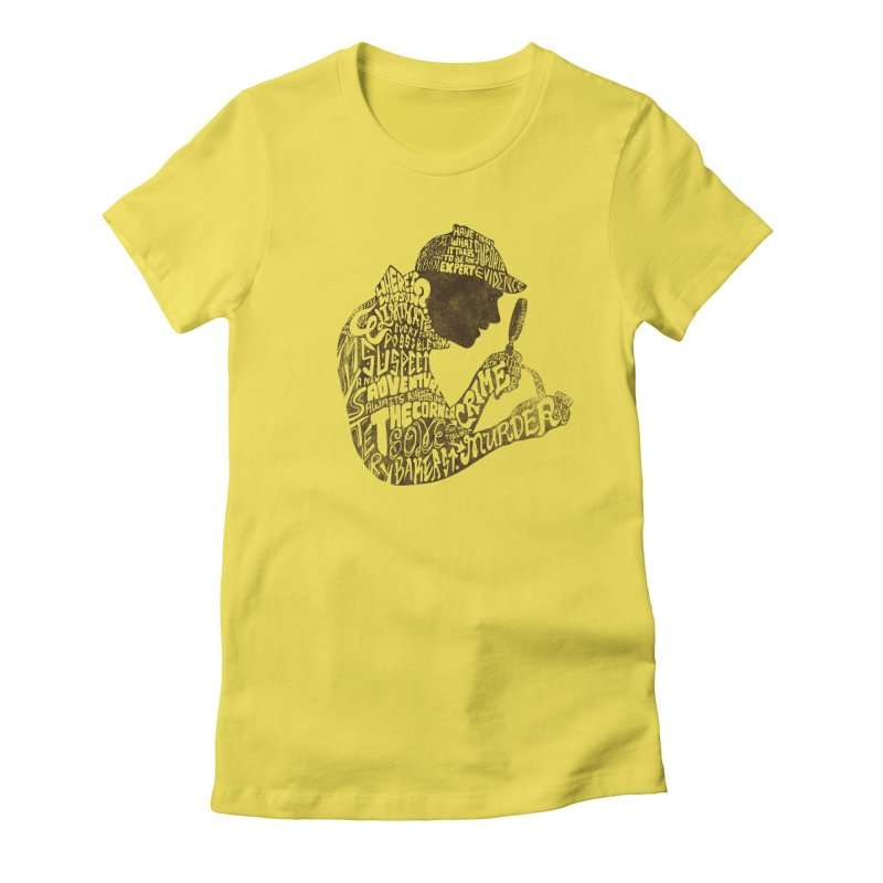 Man of Many Words Women's T-Shirt by SteveOramA