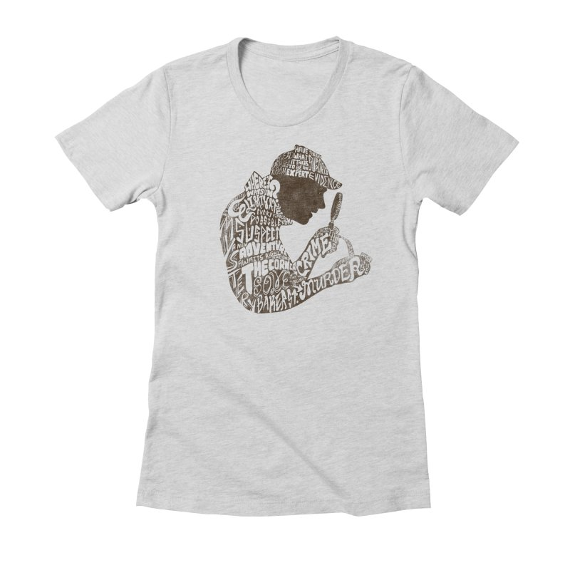 Man of Many Words Women's Fitted T-Shirt by SteveOramA