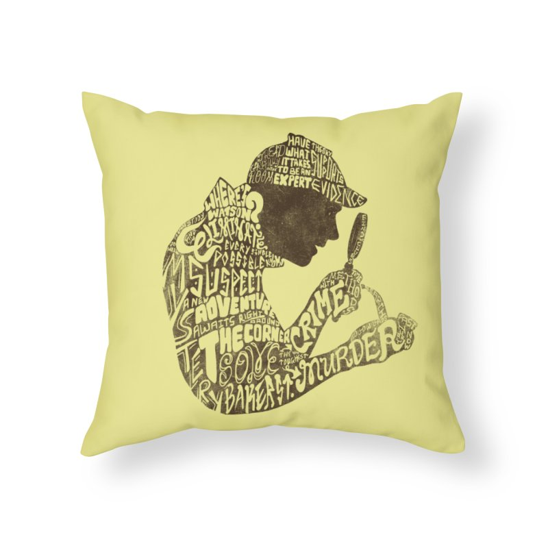 Man of Many Words Home Throw Pillow by SteveOramA