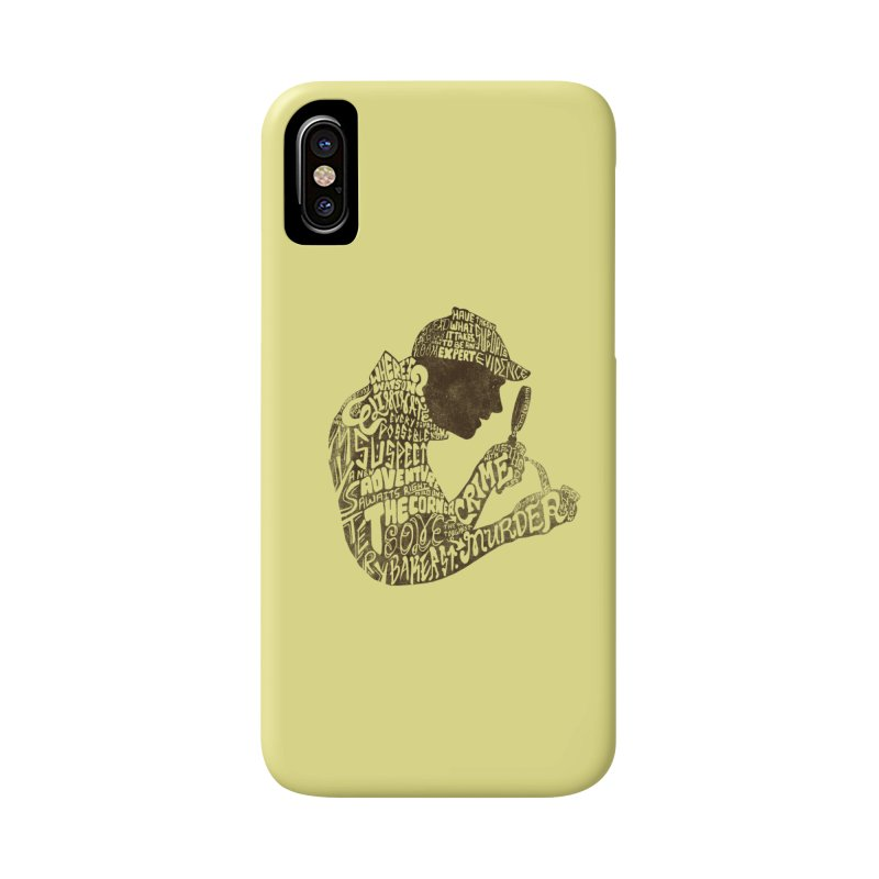 Man of Many Words Accessories Phone Case by SteveOramA