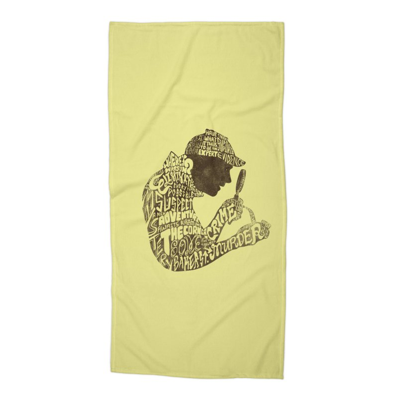 Man of Many Words Accessories Beach Towel by SteveOramA