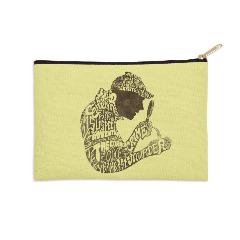 Man of Many Words Accessories Zip Pouch by SteveOramA