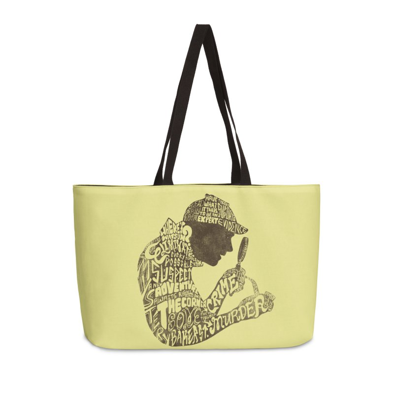 Man of Many Words Accessories Bag by SteveOramA