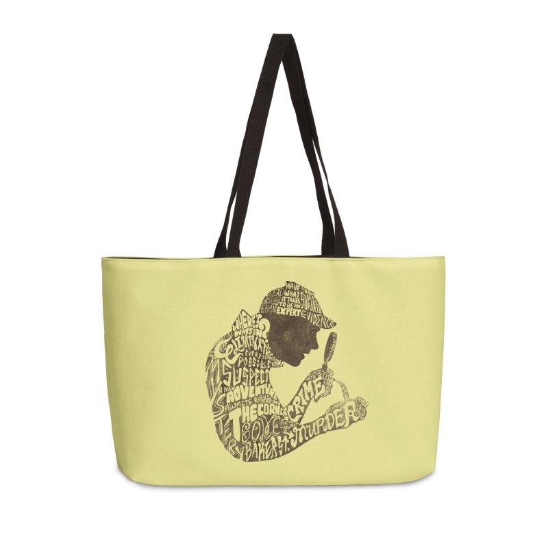 Man of Many Words Accessories Weekender Bag Bag by SteveOramA
