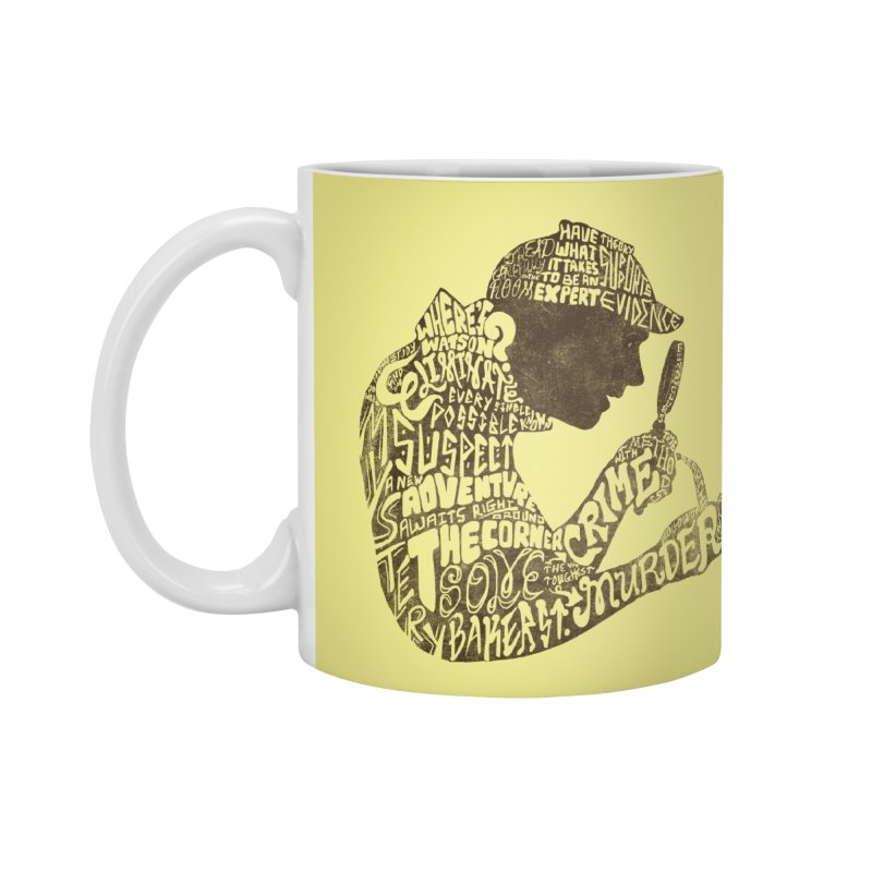 Man of Many Words Accessories Mug by SteveOramA