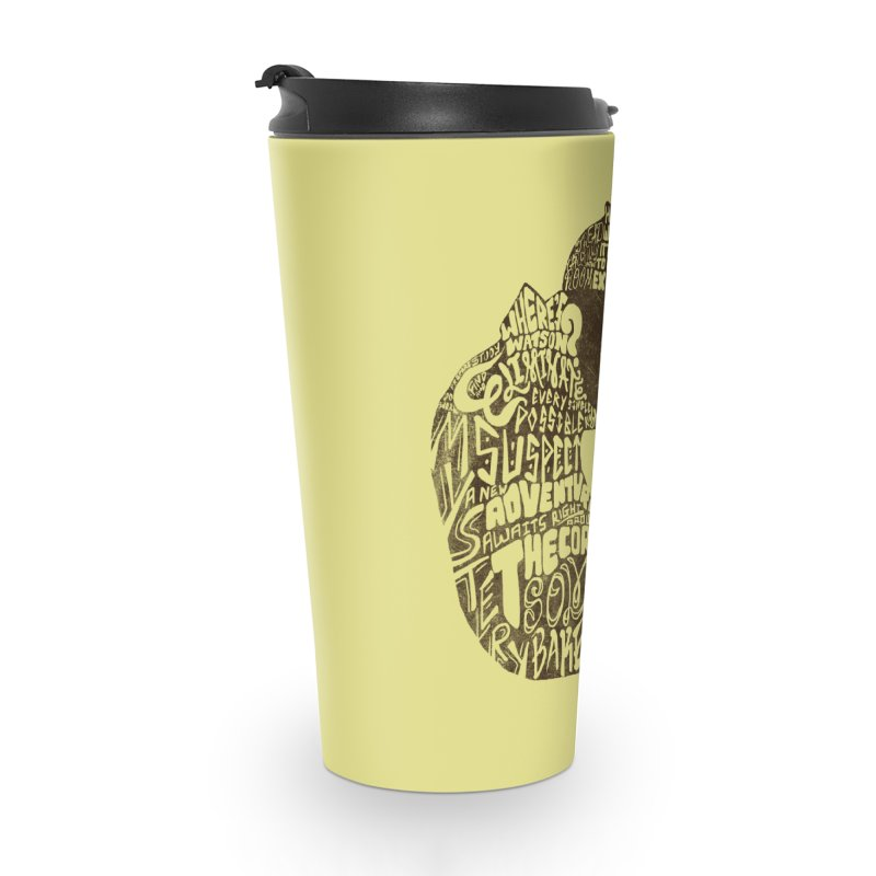 Man of Many Words Accessories Travel Mug by SteveOramA