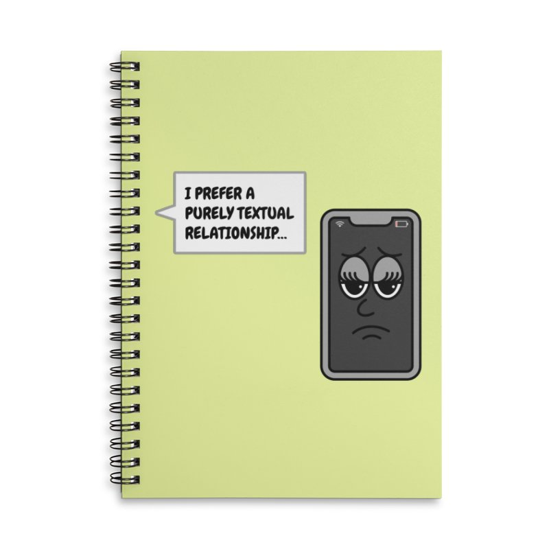 Bored Phone Accessories Notebook by SteveOramA