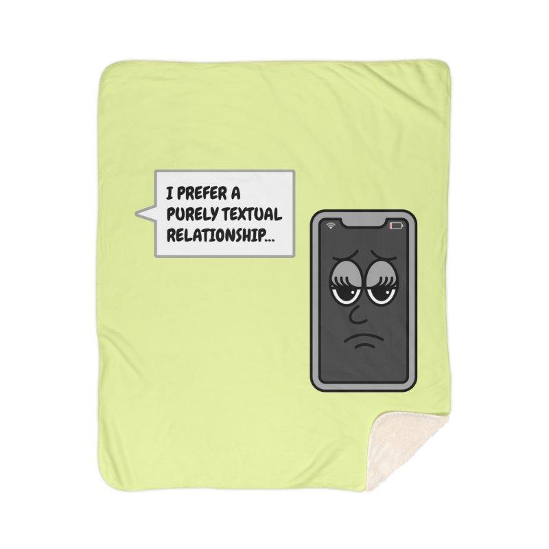 Bored Phone Home Blanket by SteveOramA