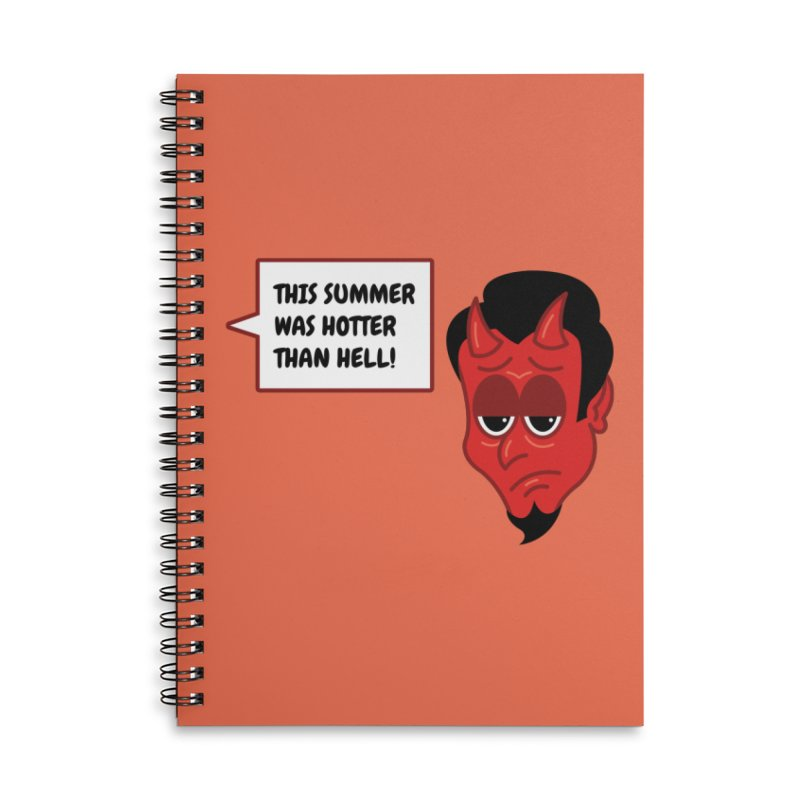 Bored Devil Accessories Notebook by SteveOramA
