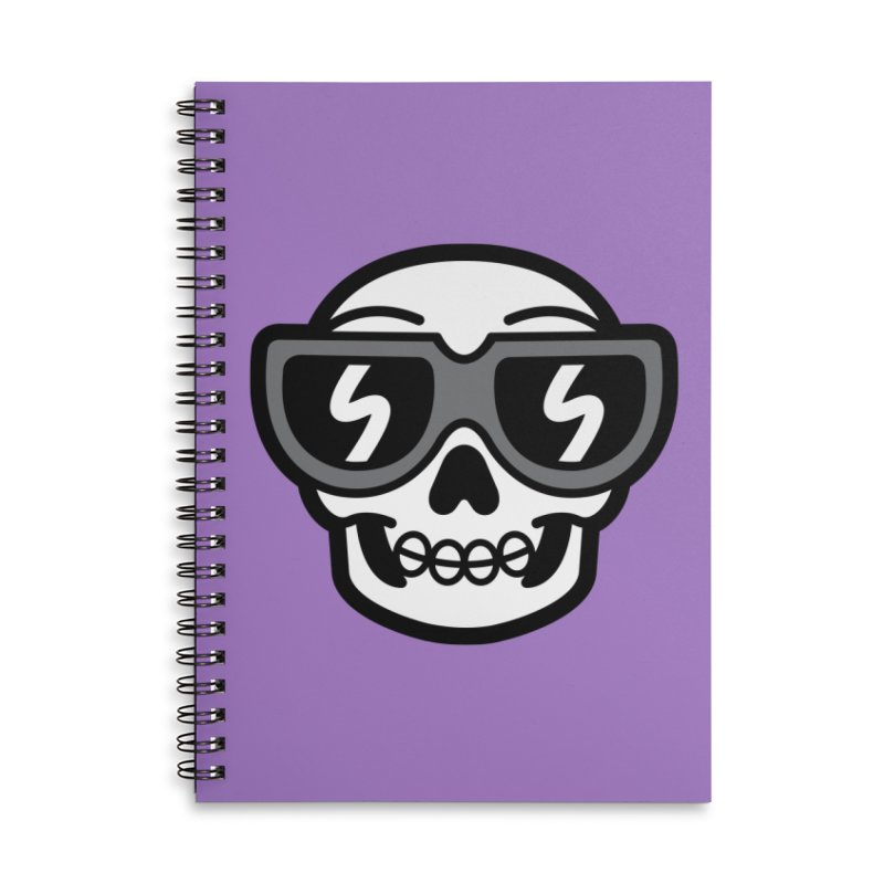 Cool Skull (portrait) Accessories Notebook by SteveOramA