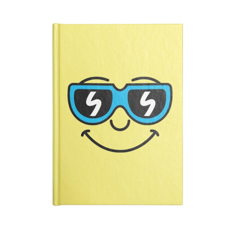 Cool Smiley (face) Accessories Notebook by SteveOramA