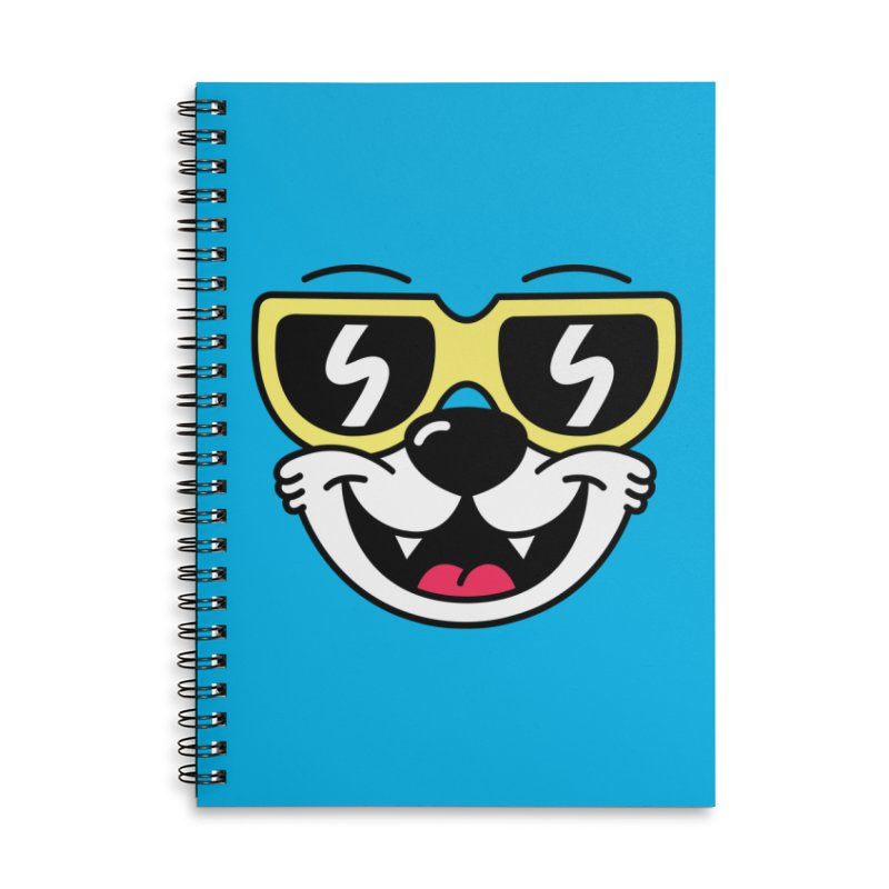 Cool Bear (face) Accessories Notebook by SteveOramA