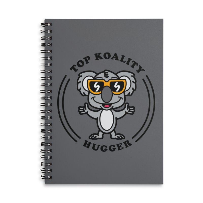 Top Koality Hugger Accessories Notebook by SteveOramA