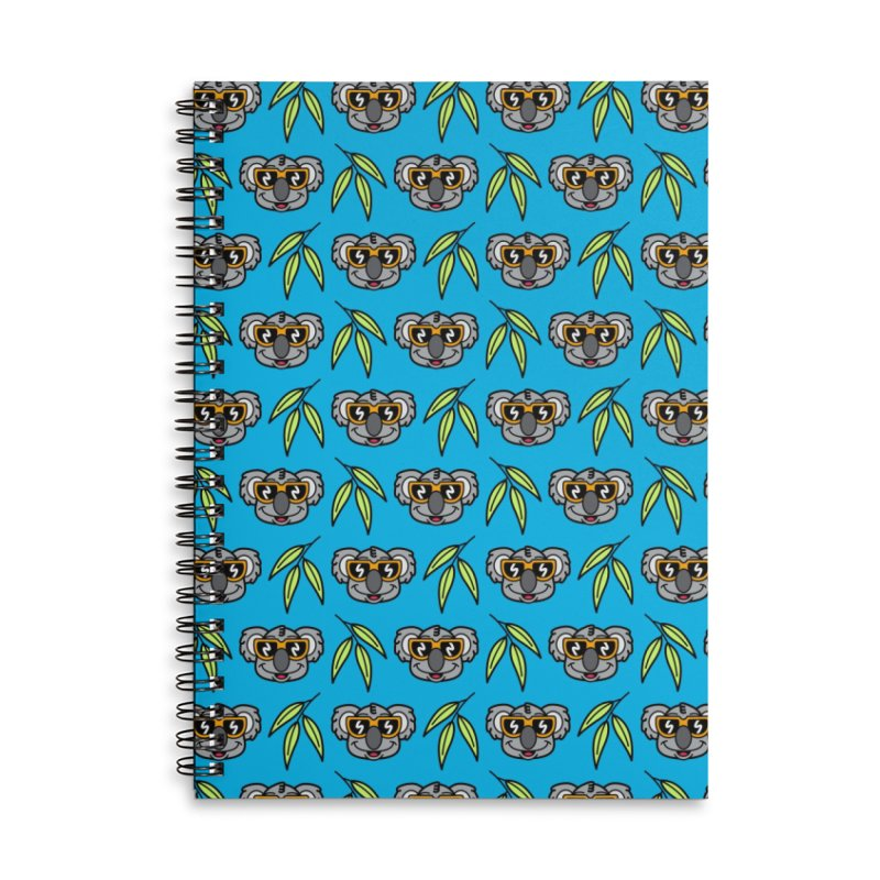 Cool Koala (portrait) Accessories Notebook by SteveOramA