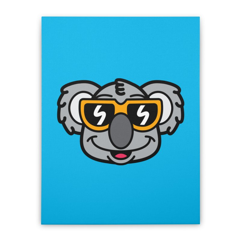 Cool Koala (portrait) Home Stretched Canvas by SteveOramA