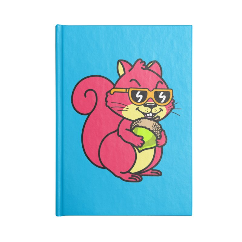 Cool Squirrel (full body) Accessories Notebook by SteveOramA
