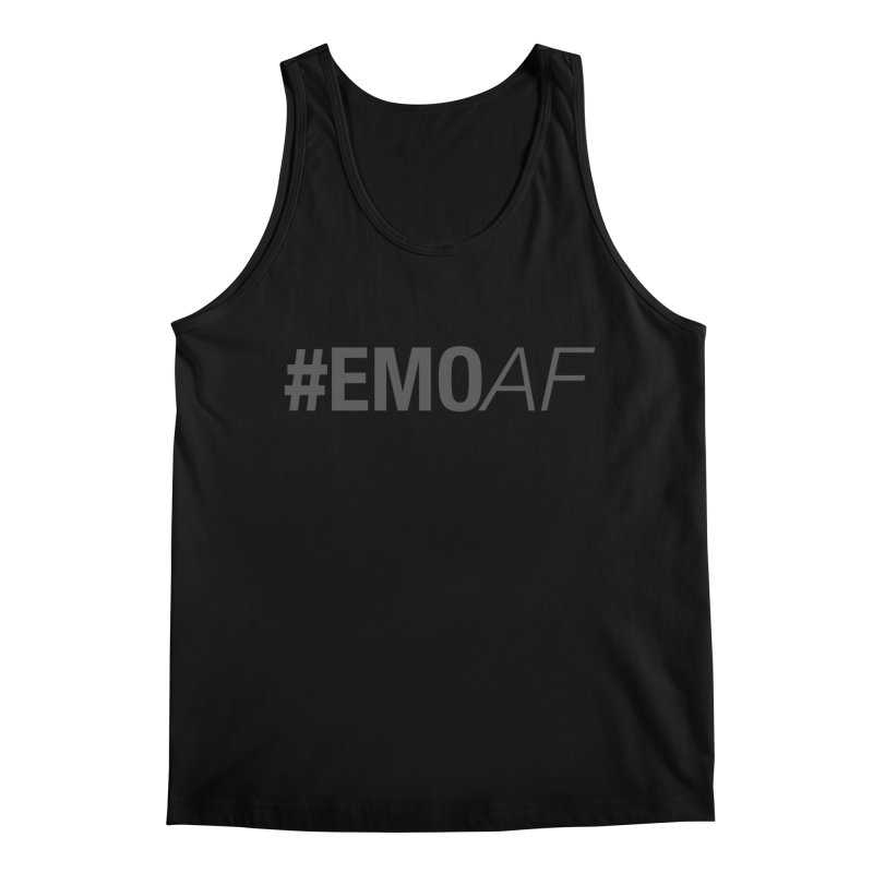 #EmoAF Men's Regular Tank by It's Me Stevie Leigh