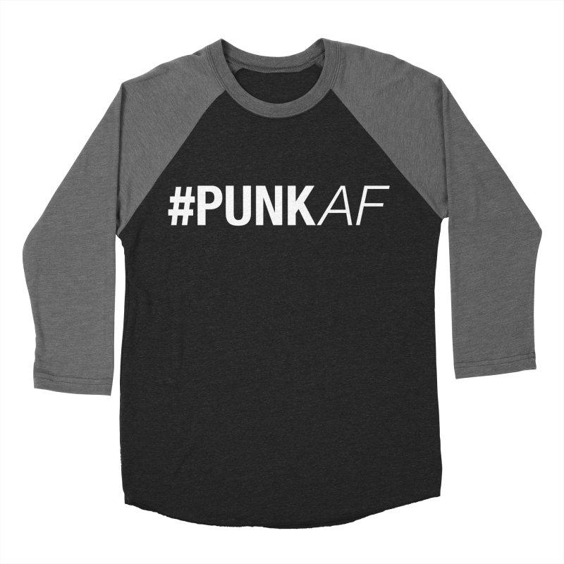 #PunkAF Men's Baseball Triblend Longsleeve T-Shirt by It's Me Stevie Leigh
