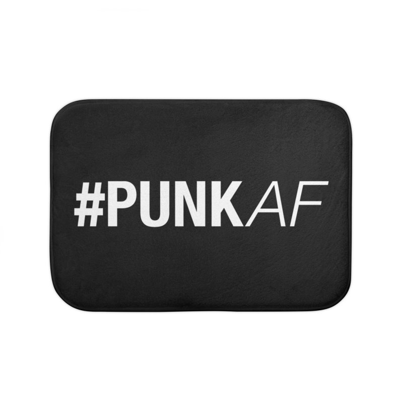 #PunkAF Home Bath Mat by It's Me Stevie Leigh