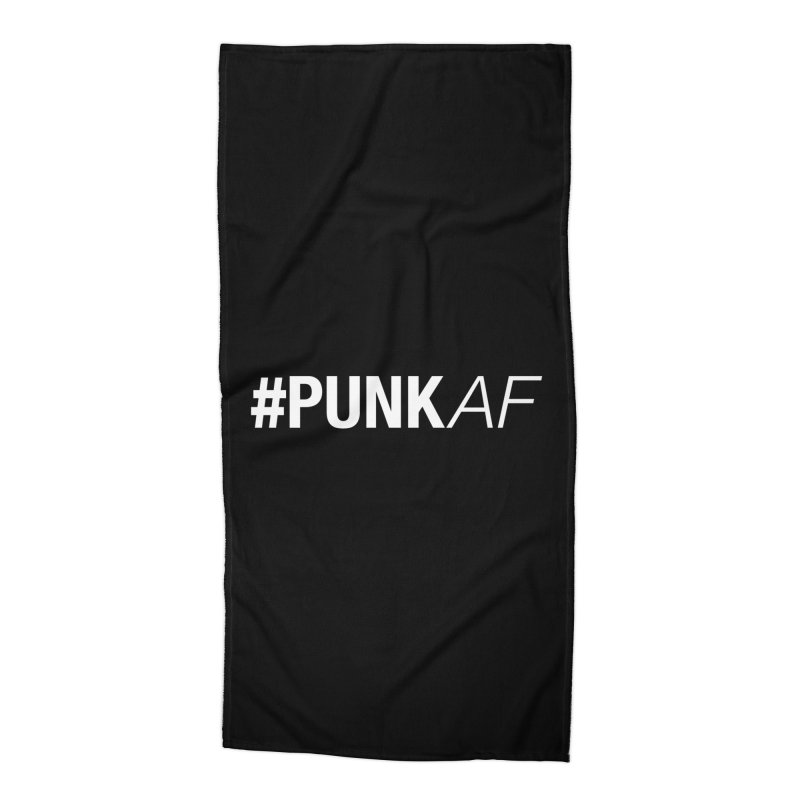 #PunkAF Accessories Beach Towel by It's Me Stevie Leigh