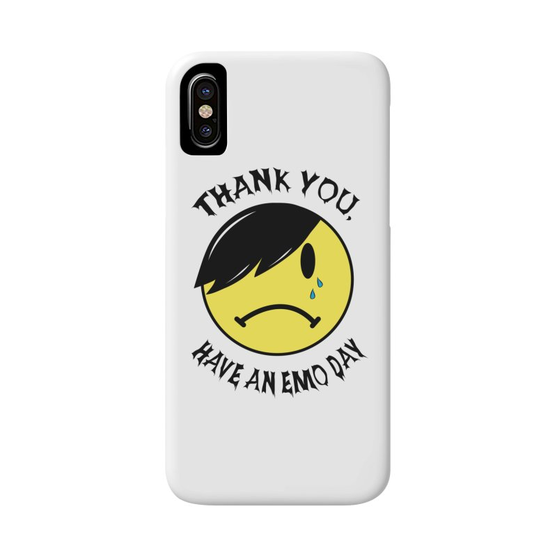 Thank You, Have An Emo Day! Accessories Phone Case by It's Me Stevie Leigh