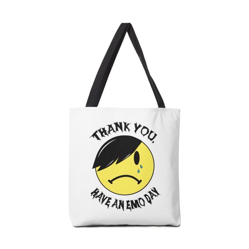Thank You, Have An Emo Day! Accessories Tote Bag Bag by It's Me Stevie Leigh