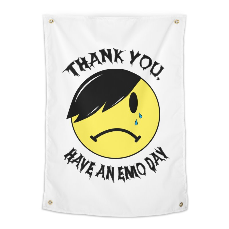 Thank You, Have An Emo Day! Home Tapestry by It's Me Stevie Leigh
