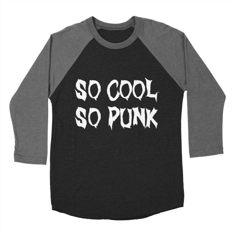 So Cool, So Punk 2 Men's Baseball Triblend T-Shirt by It's Me Stevie Leigh