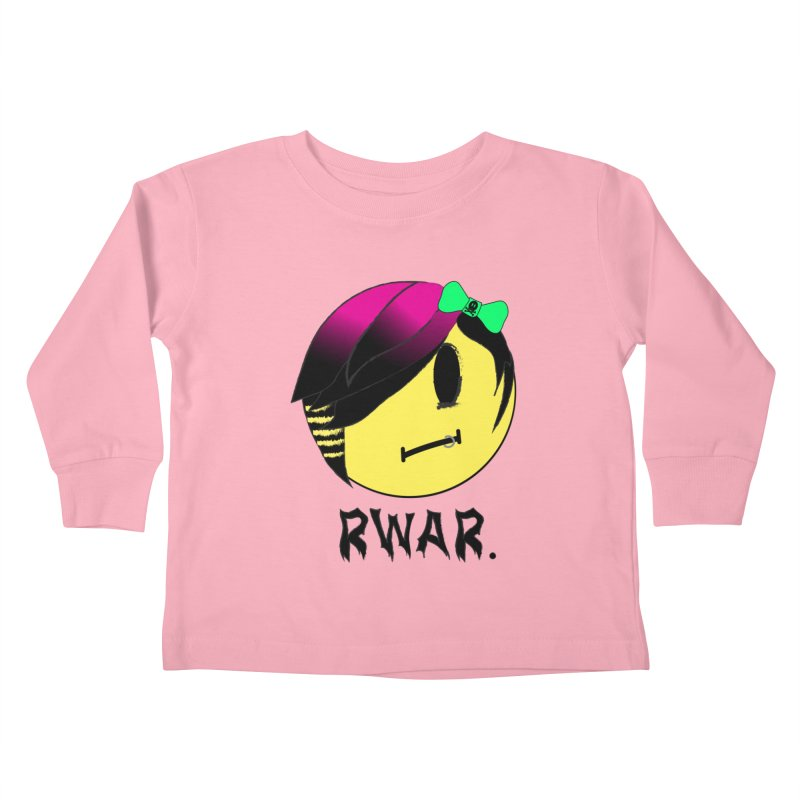 Scene Queen.  Kids Toddler Longsleeve T-Shirt by It's Me Stevie Leigh